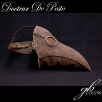 Filigreed Plague Doctor mask by GeahkBUrchill