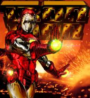 THE AVENGING IRON MAN by StevenVnDoom