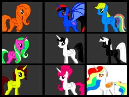 The Mane 9 Infinito by Anfrisiojunior