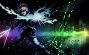 Ezreal Wallpaper by FreeshootXiggy