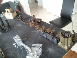 Imperial guard  astra militarum game by skincoffin