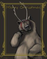 Reinbear Christmas card by 8kx