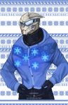 ME Christmas Sweaters - Garrus by Weissidian