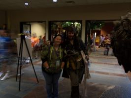Sis with Captain Jack Sparrow by The-True-ZX