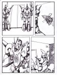 TransWarp: Csirac - Issue #4 page 4 ink and shaded by xdtaxundeadbuck01