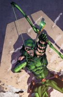 Green Arrow 1 cover by drewdown1976