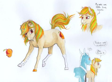 Sunny Treats ref by Lady-Limule
