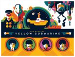 beatles: yellow submarine: titlecard by strongstuff
