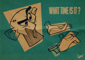 what time is it ? by leocartunista