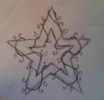 Star Vine Tattoo Design by average-sensation