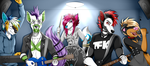 Commission: Band Practice by Blitzy-Arts