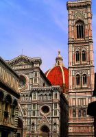 Basilica of Florence Italy by ParadoxJaneDesigns