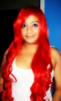 Red wig by daggert6