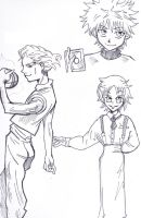 hxh doodles by CandraRose