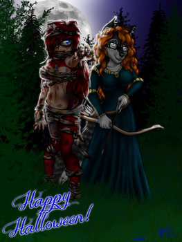 Halloween 2015 - Jess and Surrie by Jessica-Hirashi