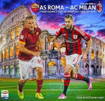 AS ROMA - AC MILAN by jafarjeef