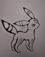 Umbreon by Rioluess