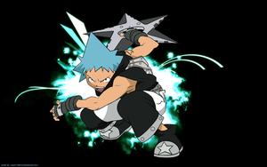 Soul Eater: Black Star color by super-inferno