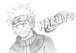 Uzumaki Naruto - Fan art by RBWennekes