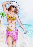 Sketch Cards: Island Dreams - 10 by JasonShoemaker