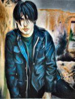Trent Reznor :colored pencil: by SnowyBunny16