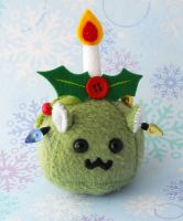 Puff Puggle Christmas Tree 2.0 by callykarishokka