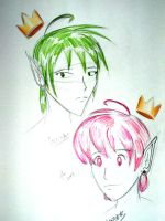 Cosmo and Wanda Anime Style by hewtab
