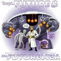 PRINT VERSION - Capt Future and Futuremen by DBed