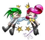 Fairly Odd Parents Cosmo Wanda by plantman-exe