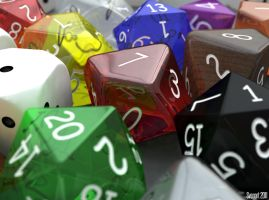 Roleplaying dice by svenart