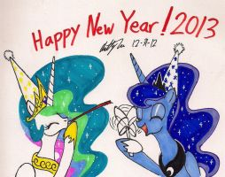Happy New Year! by newyorkx3