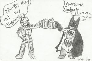 Cheers Bruce! by ComicMaster1