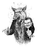Yanukovich -- behind the Mask by SergiyKrykun