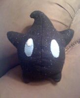 Sparkly Black Luma Plushie by Red-Flare