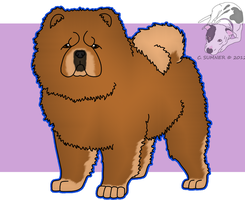 Chow Chow Adopt - OPEN by Smigolson