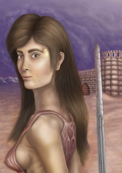 Artemesia - Female Warrior of Ancient Persia by Magian11
