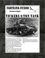 Vickers 6-ton Tank by RocketmanTan