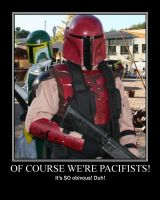 Mando-Pacifists by Colonel-Azzameen