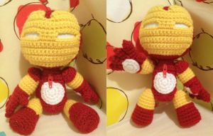 Iron Man Sackboy by anjelicimp