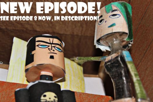 Duncan and Gwen Total Drama SEE EPISODE 8 NOW by ViluVector