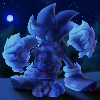 Night of the Werehog by Ultra-Adeline