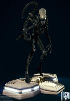 Giger ALIEN w. Nostromo base I by locusta