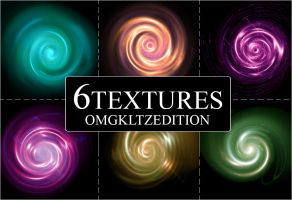 Pack #5 - 6 textures by OmgKltzEdition