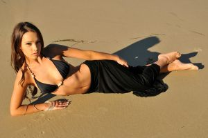 Annali - black bikini and skirt 1 by wildplaces