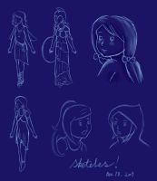 Delphi Sketches by flyingkittie