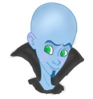 MegaMind by RoxasNaruLuver