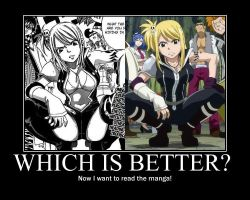 Which Is better? Anime or Manga? by BlackSake15