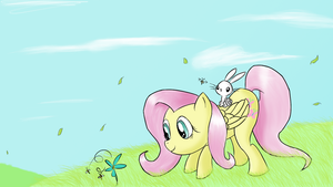 Admiring Nature (Updated) by WhoovesPON3