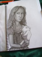 Alice in Wonderland by pencil-to-papaer
