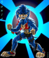 SONIC DUDE by Black-rat